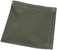 40' X 40' Tan Temper Tent Tarp W/Rope In Hems W/Grommets 24'' Apart
