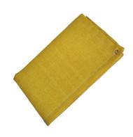 12' X 12' Gold Slag-Shed Blanket 24 oz. Grommets 24'' Apart