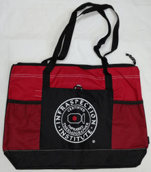 Infraspection Zippered Tote Bag