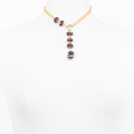 Coco Moonstone Toggle Necklace
