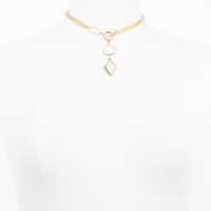 Mother of Pearl Toggle Necklace