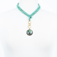 Turquoise and Labradorite Necklace