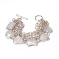 Moonstone Sterling Bracelet