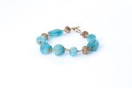 Aqua Marine Blush Bracelet