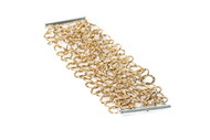 Multi Gold Link Bracelet