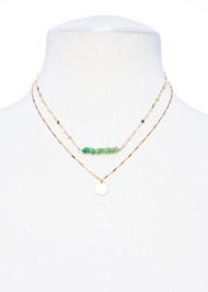Petite Prehnite Necklace
