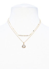 Petite Labradorite Necklace
