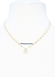 Petite Spinel Necklace