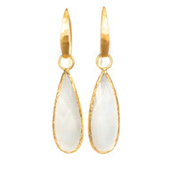 Moonstone Tear Drop Earring
