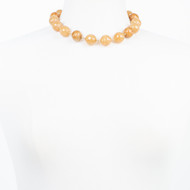 Coffee Quartz Choker