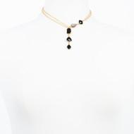 Druzy Onyx Necklace