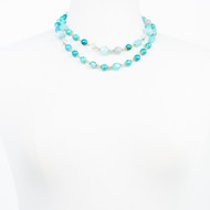 Shades of Blue Turquoise Necklace