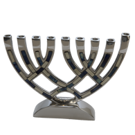 Decorative Aluminum Menorah