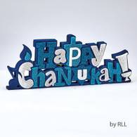 """Happy Chanukah"" Foam Decoration"