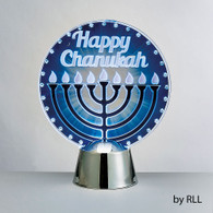 Chanukah LED Light Up Decoration - Menorah