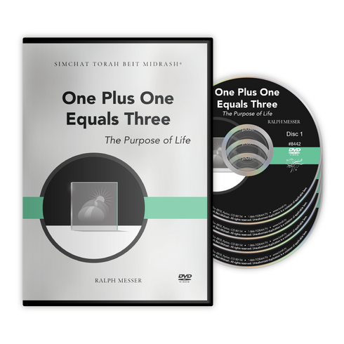 Contrast is in everything. One side is kindness and the other severity. Together they create a third element. What is IT? Good question. Find the answer in Ralph Messer's One Plus One Equals Three!