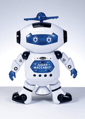 """Judah Maccabot TM"" Toy Robot"