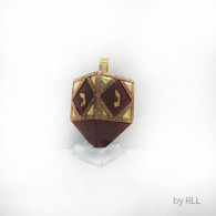 Brass/Wood Dreidel