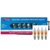 Electric Menorah Flickering Replacement Bulbs, 9 pk