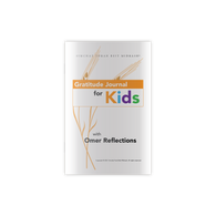 Gratitude Journal for Kids with Omer Reflections