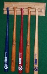 Mini bat display for 5 bats MBC 405