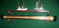 BASEBALL BAT RACK, For single bat stored in protective tube TT 601-A