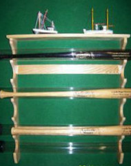 BASEBALL BAT RACKS, FOR BATS IN TUBES. TT 606   Tubes-A O