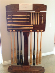 CUSTOM MADE FOR A BAT MANUFACTURE TO SHOW THEIR DIFFERENT DESIGNS