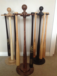 Custom Baseball Bat Racks And Ball Displays