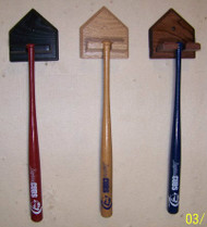 Diamond plate mini bat display.   MBC 200