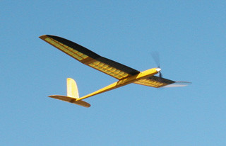 Chrysalis 2M Electric Sailplane