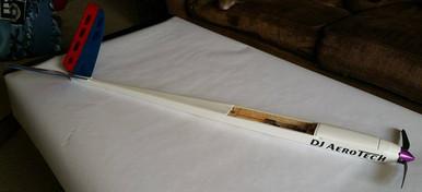 Chrysalis 1.5M Electric Wood Fuselage & Tail Kit