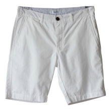 Men's Cotton Chino Shorts White