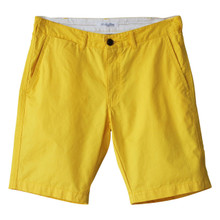 Men's Cotton Chino Shorts Yellow