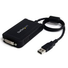 StarTech USB to DVI External Video Card Multi Monitor Adapter (USB2DVIE3)