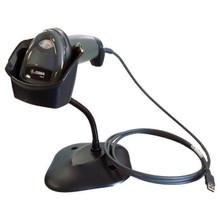 Zebra DS2208 Corded 1D/2D Handheld Imager Kit Twilight Black (DS2208-SR7U2100SGW)