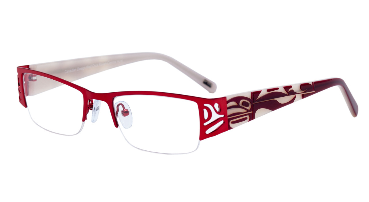 3b4a01f914f Kayla - Optical Frame.  169.00. Red Cream