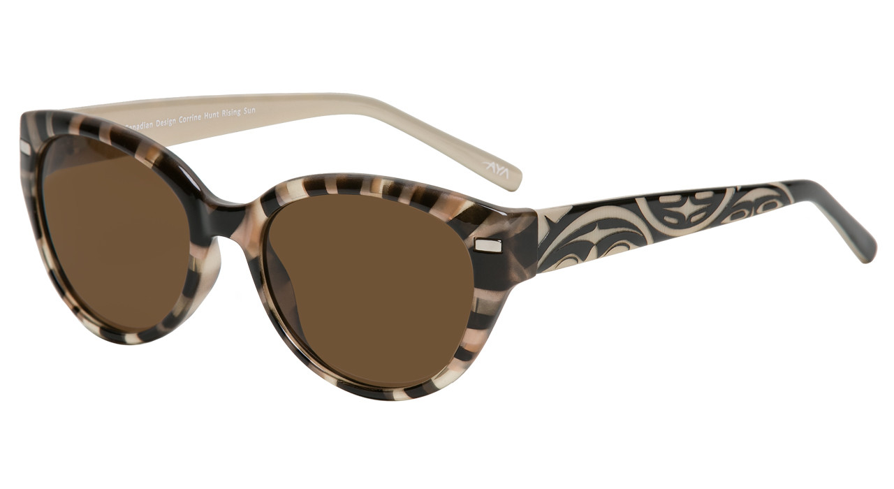 e1b3ed2c739 Soleil - Bifocal Sunglass Reader.  45.00. Brown Alabaster with Tortoise  Front
