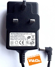 ASDA E80197 Airline Mechanical EBDF+09090-1000 Power Supply AC Adapter 9V 1A