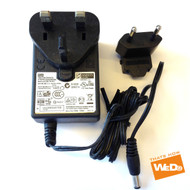 Daewoo DPC-7200 DPC-7600PD Portable DVD Power Supply Adapter 12V 2A UK EU