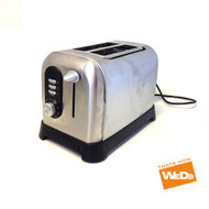 Kitchen Collection Stainless Steel 2 Slice Toaster