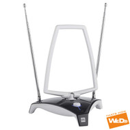 One For All SV9360 45DB FreeView Indoor Amplified TVUHF/VHF/FM Aerial Antenna