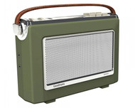 Goodmans Vintage OXFORD DAB+ Bluetooth Digital FM RDS Radio -  Army Green (NEW)