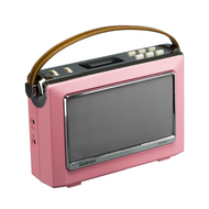 Goodmans Vintage OXFORD DAB+ Digital FM RDS Radio - Pink (NEW)