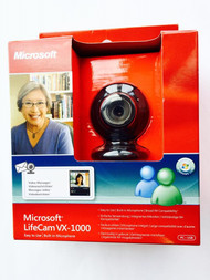 Microsoft Lifecam VX-1000 Built-In Microphone Windows Live Notebook Webcam