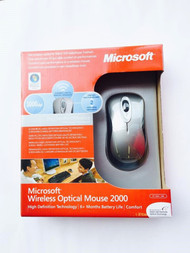 Microsoft Wireless Optical Mouse 2000 HD Grey 69J-00002