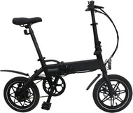 Whirlwind C4 Foldable E-Bike (Electric) Black 25km/h (Lightweight) UK Made