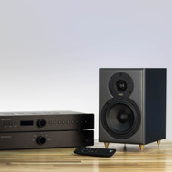 TIBO Legacy 1+ | Passive Hi-Fi Bookshelf Speakers | 100W | Black