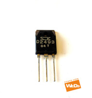 KENWOOD SANKEN 2SD2493 TRANSISTOR TO-3P D2493