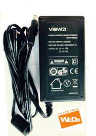 VIEW21 VW11FSRHD50 VW11FVRHD50 POWER SUPPLY AC ADAPTER 12V 2.5A